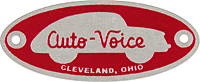 auto voice cleveland drivein movie theater speaker plate