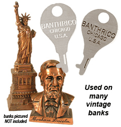 banthrico bank key vintage