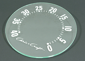 christ craft speed-o-meter glass face