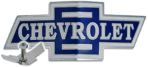 chevy chevrolet hood ornament medallion emblem