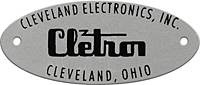 cletron cleveland drivein movie theater speaker plate
