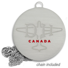 dh aircraft canada nicklace nickel