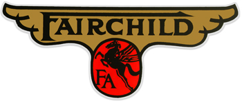 fairchild aircraft tail decal sticker
