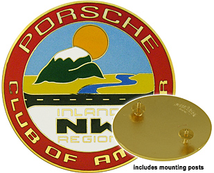 porsche nw northwest club or america medallion