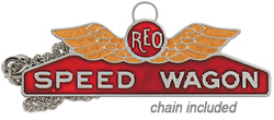 reo speed wagon necklace stainless steel