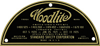 woodlite light plate standard safety